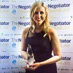 Angharad Trueman CGT Lettings The Negotiator Awards Rising Star of the Year 2019 Estate Agent Awards image