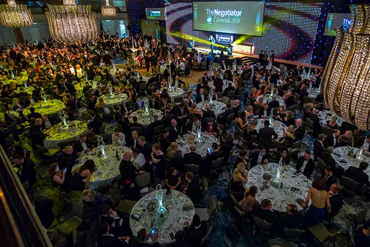 The Negotiator Awards 2018 Gala Dinner Grosvenor House image