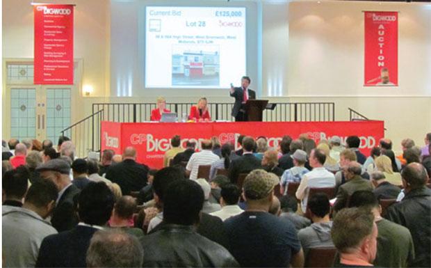 SDL Bigwood auction room image