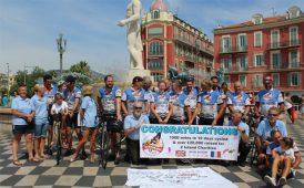 Wrights charity bike ride image