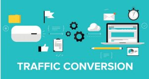 Digital traffic conversion image