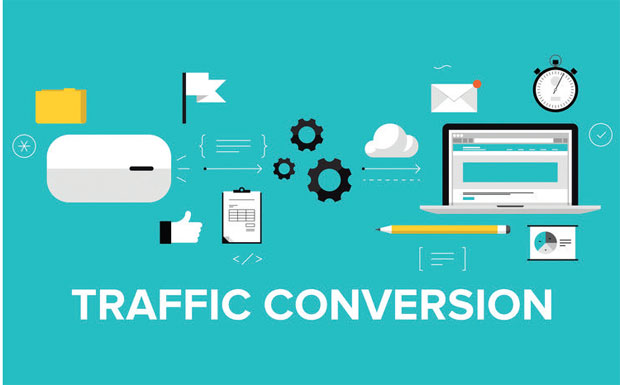 Digital traffic conversion image
