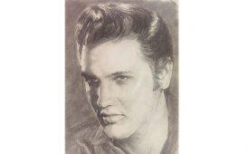 Elvis portrait image