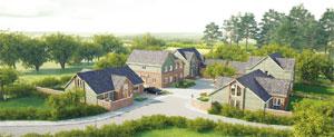 Luxury housing scheme image