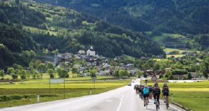 Poloton fundraising bike ride image
