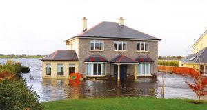 Flooded property image