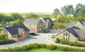 Luxury housing scheme image