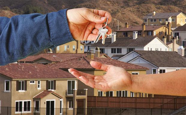 Handing over the keys image