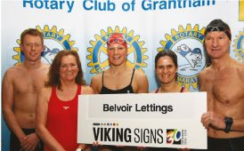 Belvoir fundraising swimathon image