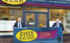 Baker Wynne & Wilson fundraising image