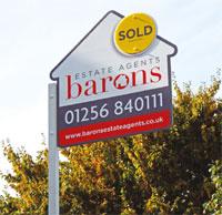 Kremner Signs Barons signboard image