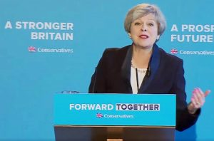 theresa may Conservative Party Manifesto