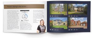 Traditional marketing brochure image