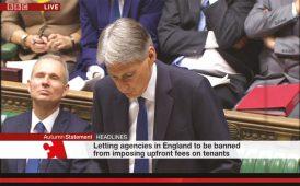 Parliamentary debate on Letting Fees image