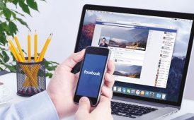 Advertising through Facebook image