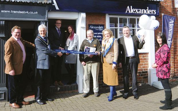 Alexanders new office image