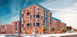 Less parking more space says developer the negotiator maryland securities residential scheme image malvernweather Gallery