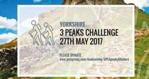 3 Peaks Challenge fundraising image