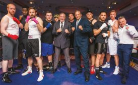 'Rumble with the Agents' boxing fundraiser image