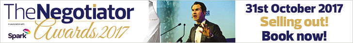 The Negotiator Awards 2017 Jimmy Carr banner image