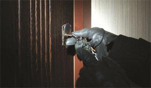 Burgular opening door image