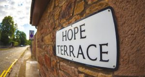 Hope Terrace street sign image
