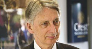 Chancellor Philip Hammond image