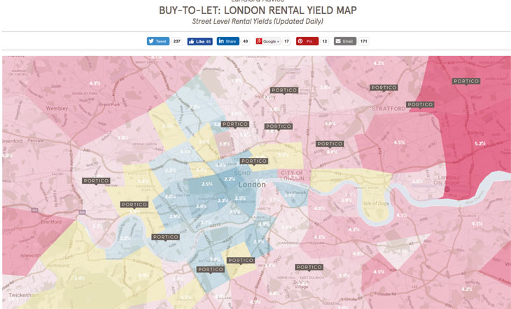 How Humberts New Hybrid Models Works The Negotiator - Us rental yield map