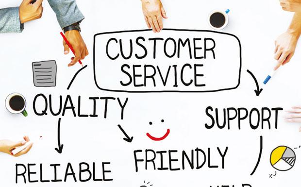 Customer Service illustration image