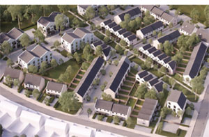 New homes in Southmead, Bristol, image
