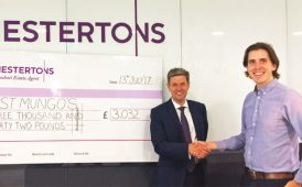 Chestertons charity cheque image