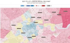 Portico Rental Yield Map image