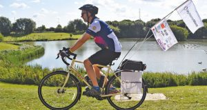 Rob Gurney charity cycle ride image