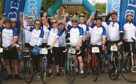 Pedal for The J's charity event image