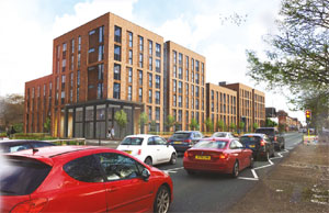 Manchester apartment scheme image