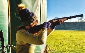 Fine & Country clay shooting image