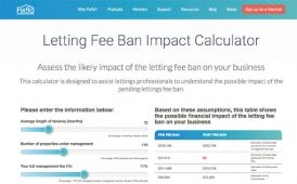Letting Fee Ban Impact Calculator