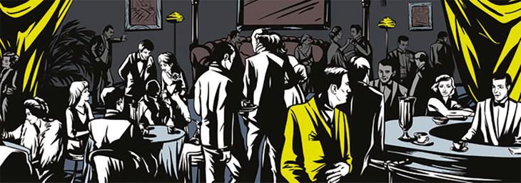 Basement bar image