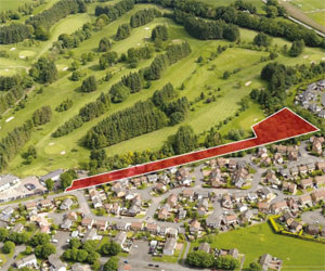 Strathaven Gold Club new homes site