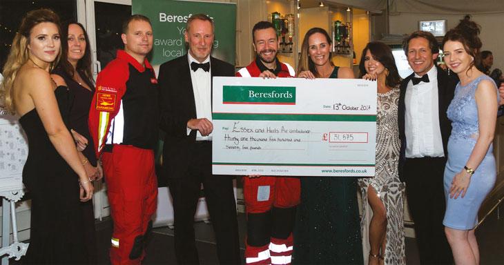 Beresfords fundraising image