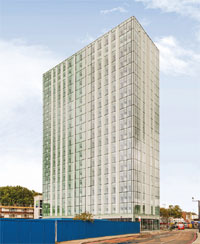 Britannia Point, Colliers Wood, image