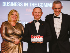 Andrews Business in the Community Award image