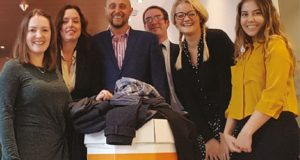 Chestertons collecting coats for charity image