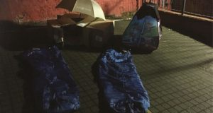Fine & Country Bedford sleep out image