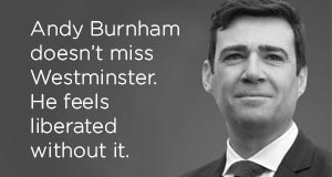 Andy Burnham Peter Wilson Lecture 2018 image