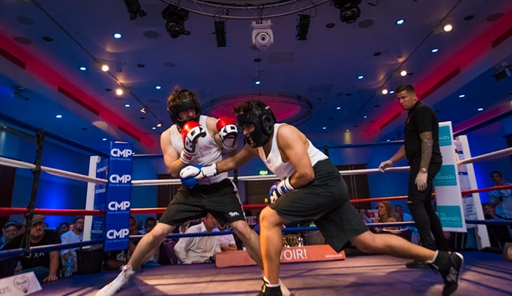 Rumble With The Agents 2018 white collar charity boxing event image