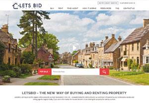 LetsBid website image