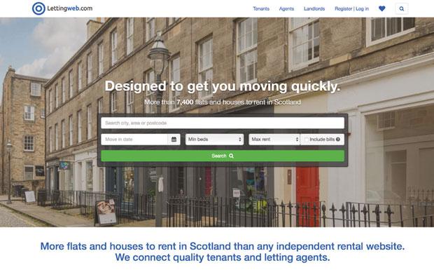 Lettingweb website image