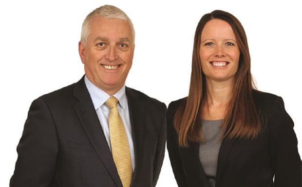 Ian Wilson and Claire Hazard image