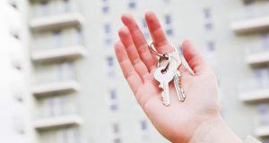 Handing over keys image